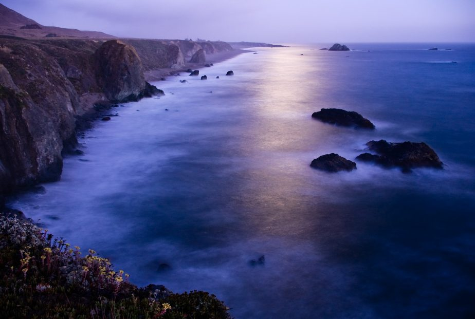 Moonlit Sonoma Coast